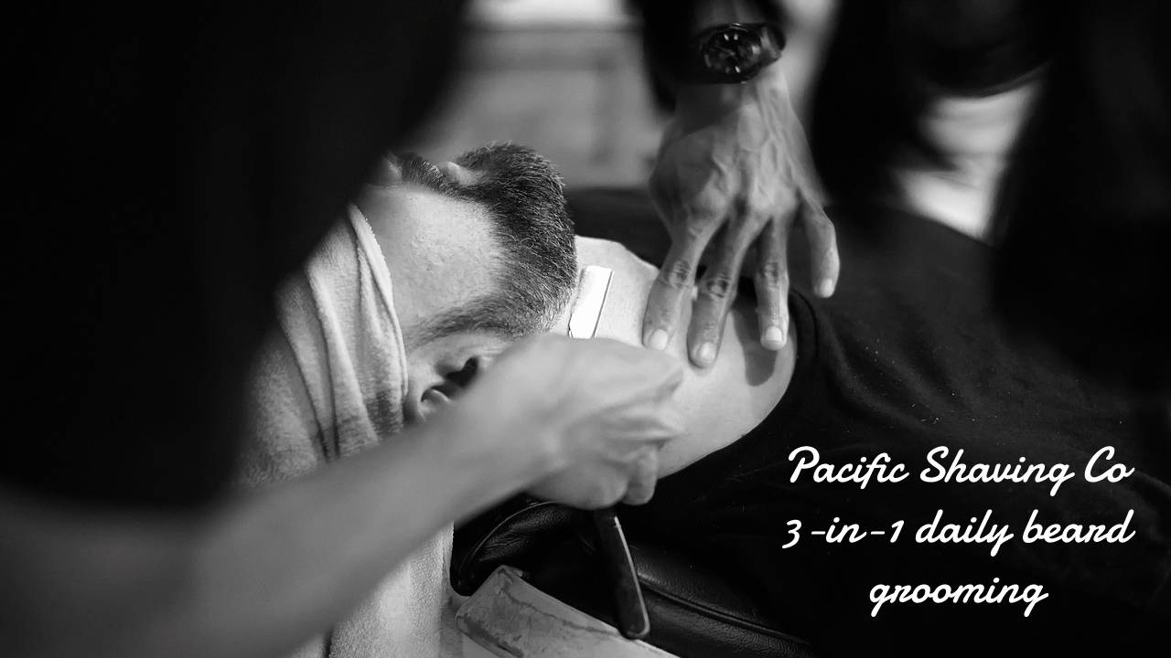 Pacific Shaving Co 3-in-1 daily beard grooming
